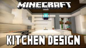 minecraft interior design kitchen minecraft tutorial modern kitchen design how to build a modern