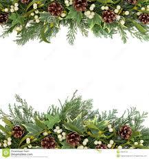 greenry ornament border clipart