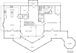 log home plan 01843 katahdin cedar log homes floor plans