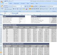 Amortization Table With Extra Payments How To Calculate A Mortgage Amortization Table Amortization