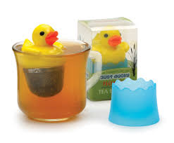 just ducky tea infuser yellow duck rubber duckie loose leaf tea