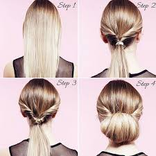 juda hairstyle steps easy party hairstyles how to do a twisted bun up do step by step