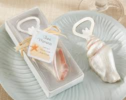 bottle opener wedding favors sea shell bottle opener wedding favors themed favors