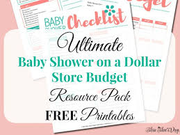 dollar store baby shower how to plan a baby shower in 7 simple steps about a