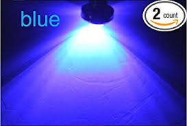 amazon com ultra bright led boat deck lights blue w black case