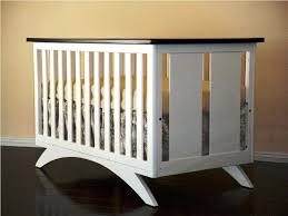 Round Convertible Crib by Oval Baby Crib Contemporary Wooden Round Cribs Nursery Cool Ideas