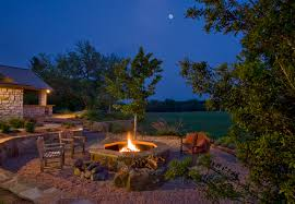 Outdoor Fireplaces And Fire Pits That Light Up The Night Diy Diy Propane Fire Pit Houzz