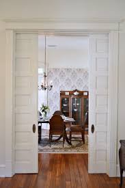 Colonial Home Interiors Great Outdoor Pocket Door 1940s Colonial Home Remodel Includes New