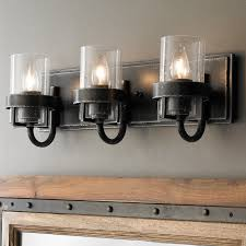 bath lighting factory vintage iron bath light 3 light shades of light