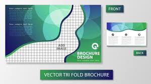 illustrator tutorial tri fold brochure design youtube
