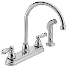 low pressure kitchen faucet p299575lf w two handle kitchen faucet