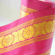 wide ribbon neotrims india silk satin sari salwar kameez 10cm wide ribbon