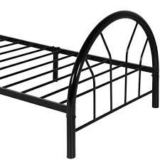 twin metal bed frame w headboard footboard black u2013 best choice