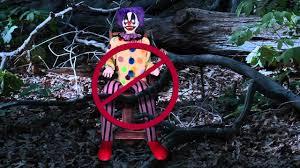 spirit halloween phone number tekky toys thrashing clown setup youtube