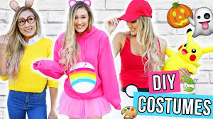 diy halloween costumes for teens 2016 laurdiy youtube