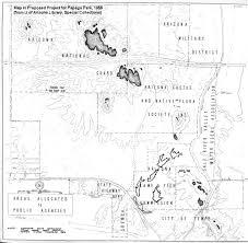 Map Of Arizona State by Maps Of Papago Park In Phoenix Arizona