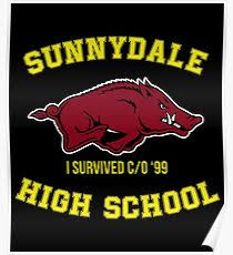 sunnydale class of 99 sunnydale high school posters redbubble