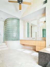 glass block bathroom design ideas remodels photos with elegant