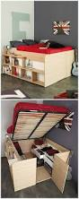 clever and innovative modern bed designs with storage home ideas hq