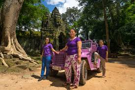lavender jeep new adventure tour company empowers women with an a2 military jeep
