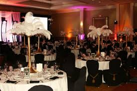 Ostrich Feather Centerpiece Props Decor Rental Items From Uniquely Florida With Linens