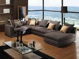 Deep Sofa by Bingham Chenille Sofa Pertaining To Awesome Extra Deep Sectional