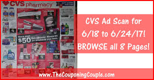 cvs black friday 2017 cvs ad scan for 6 18 to 6 24 17 browse all 8 pages