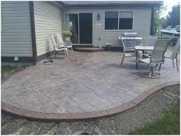 backyards winsome creative backyard cement patio ideas 57 for