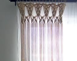 Custom Curtain Sizes Macrame Wedding Arch Bohemian Backdrop Custom Curtain Boho
