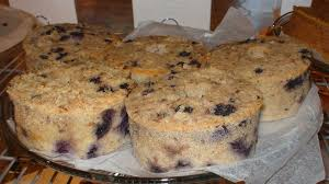 lemon blueberry bread pudding cakes 5 50 when pigs fly
