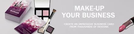 makeup artist business card template makeup artist business card