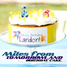 miles from tomorrowland birthday cake recipes revamped
