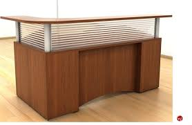L Shape Reception Desk The Office Leader Peblo L Shape Reception Desk Workstation