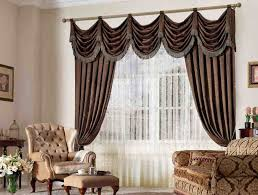 Decorative Curtains For Living Room Popular With Valance