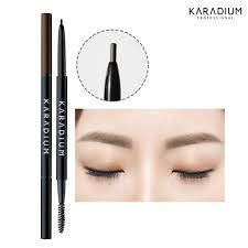 light grey eyebrow pencil karadium skinny eyebrow pencil 0 08g 3 colors 3 grey brown