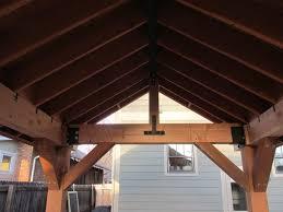 Outdoor Patio Covers Pergolas Outdoor Living Space Patio Cover Pergola With Roof Cedar