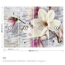 wallpaper collection on ebay flowers vintage wood wall mural photo wallpaper 2878dk
