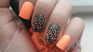 leopard print nail art designs nails gallery