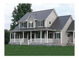 two story house plans farmhouse home pattern