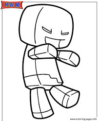 zombie pokemon coloring pages minecraft zombie steve coloring pages printable