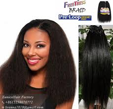 crochet black weave hair freetress pre loop crochet braids yaky straight freetress equal