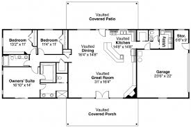 3 bedroom ranch house floor plans simple ranch house plans don gardner designs house plans 76039