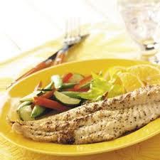 Catfish Dinner Ideas Lemon Pepper Catfish Recipe Taste Of Home