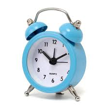 night light alarm clock mini classic double bell alarm clock traditional quartz movement