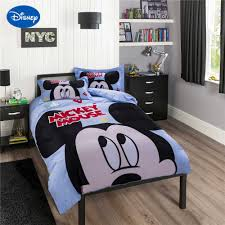 Mickey Mouse Queen Size Bedding Online Buy Wholesale Blue Satin Bedding Set King Size From China