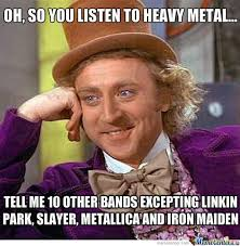 Heavy Metal Meme - heavy metal posers by werepyre meme center