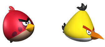 angry birds 3d model poly cgtrader