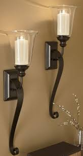 Decorative Wall Sconces Best 25 Candle Wall Sconces Ideas On Pinterest Wood Candle