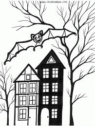 halloween bats coloring page dresslikeaboss co
