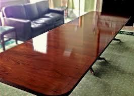 Mahogany Boardroom Table Polising Mahogany Boardroom Table Paleamber